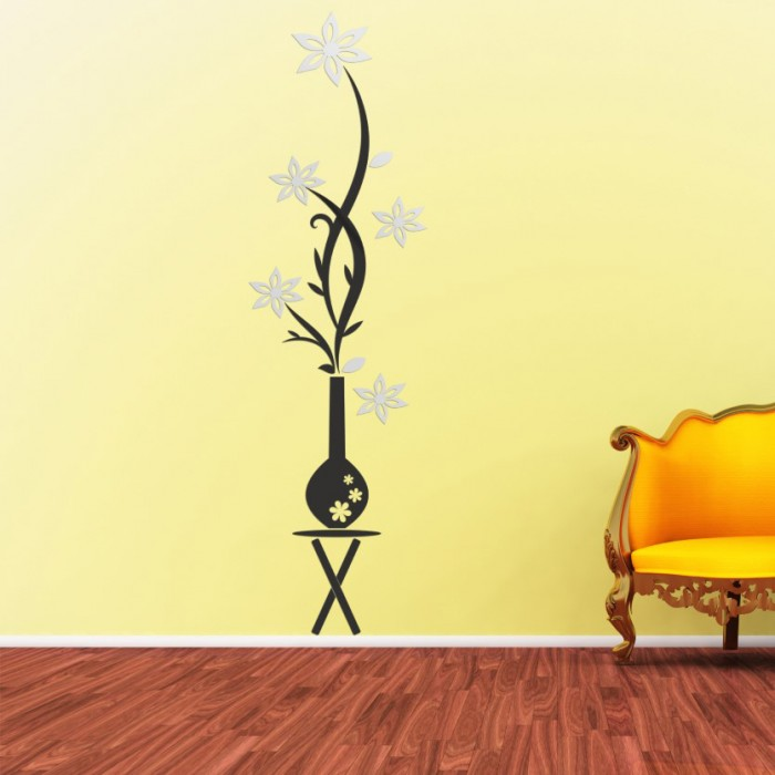 Dev Vazo Dekoratif Ayna Seti