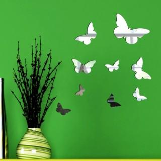 Kelebekler Dekoratif Ayna