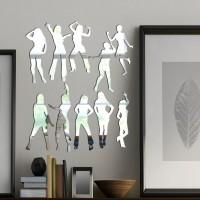 Dansçı Kızlar Dekoratif Ayna