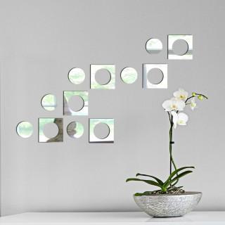 Retro Dekoratif Ayna