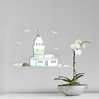 Kız Kulesi Dekoratif Ayna