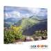 CN-A105-024 Dağlar, Sarı Papatyalar Kanvas Tablo