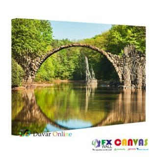 A-105-071 Eski Köprü Kanvas Tablo