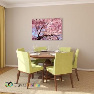 Sakura Ağacı Kanvas Tablo