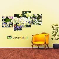 A103-013 Floral Çiçekli Kanvas Tablo
