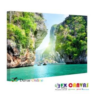 A104-056 Phi Phi Adası Tayland Kanvas Tablo Modeli