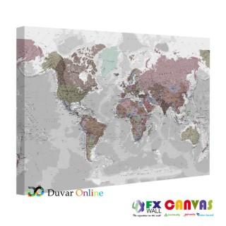 Dünya Haritası Tablo