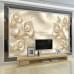 3D İnci Duvar Kağıdı