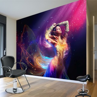 Işıkla Dans - Duvar Posteri