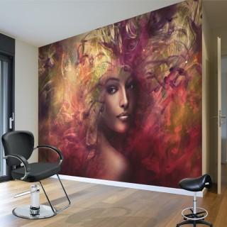 Kadın Yüzü - Duvar Posteri