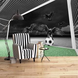 Kara Kartallar 3D Duvar Posteri
