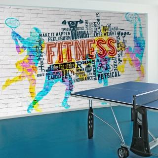 Spor Salonu Fitness Duvar Kağıdı
