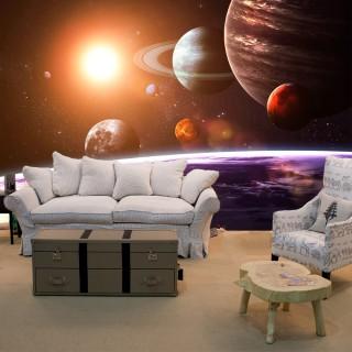 Uzay ve Gezegenler Duvar Kağıdı