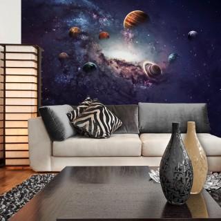 Gezegenler 3D Duvar Posteri - Yeni