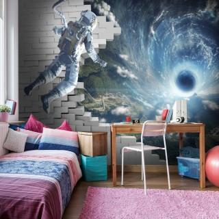 Uzay Boşluğu ve Astronot Duvar Kağıdı