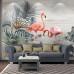 Flamingolar Duvar Kağıdı - Harika tasarım