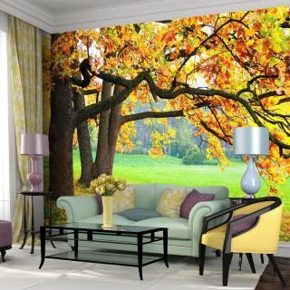 Ağaç Dalları Arasında - Duvar Posteri