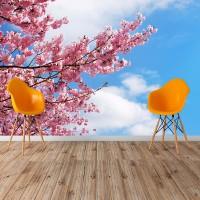 Çiçekli Ağaç Dalları - Duvar Posteri