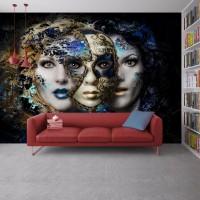 Mask Özel Tasarım Duvar Posteri