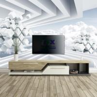 3D Gökyüzü Derinlik Duvar Posteri