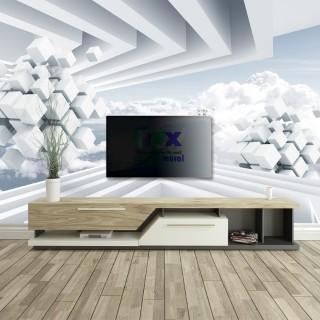3D Gökyüzü Derinlik Duvar Posteri A206