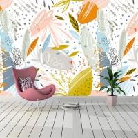 Renkli Duvarlar Duvar Kağıdı A210-028