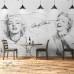 Marilyn Monroe Tasarım Duvar Posteri graffiti 2