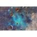 Tuğla Duvar Uzay Graffiti