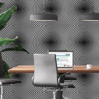 Hipnoz 3D Duvar Kağıdı Gri A201-025-1