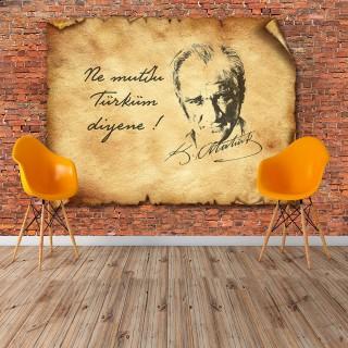 Atatürk Duvar Posteri