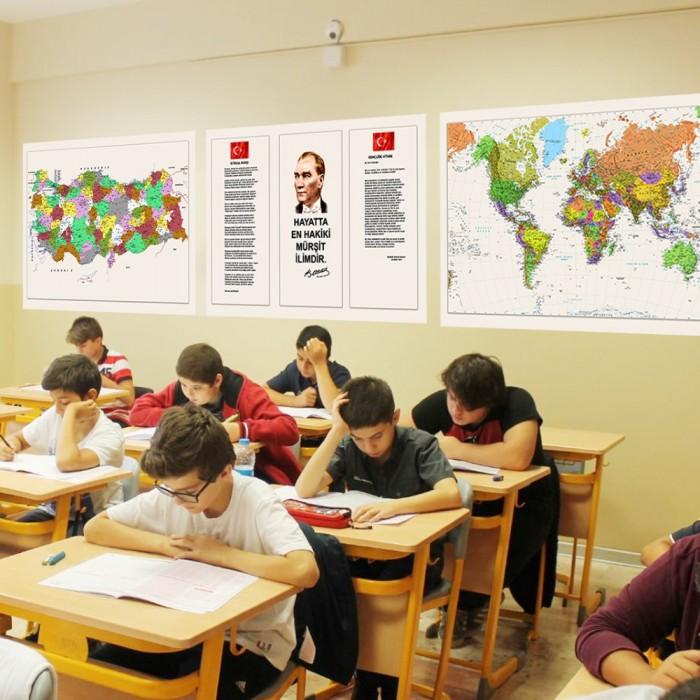 Okul Sınıflar İçin Set