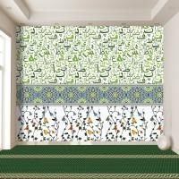 Mescit Duvar Kağıdı Yeşil