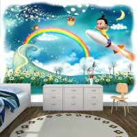 Gökyüzü Rüyası Çocuk Odası Duvar Kağıdı