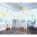 Bulutların Üzerinde Gezegenler Çocuk Odası Duvar Kağıdı