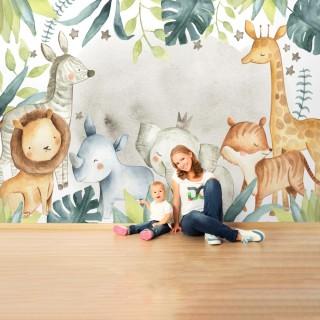Safari Hayvanlar Duvar Kağıdı