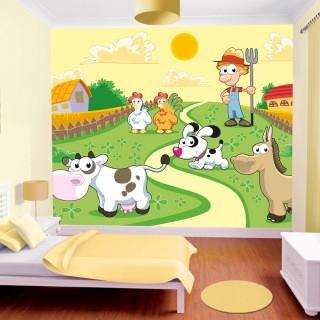 Çocuk Odası Çiftlik Duvar Posteri