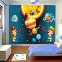 Çocuk Odası Uzay Gözlemcileri Duvar Posteri