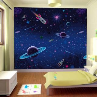 Çocuk Odası Gezegenler Duvar Posteri