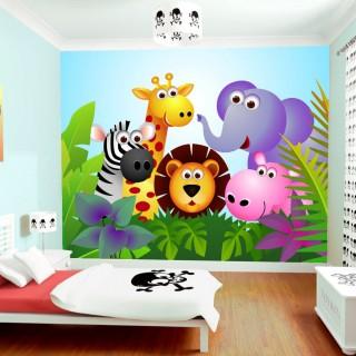 Çocuk Odası Hayvanlar Duvar Posteri