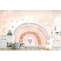 Gökkuşağı Çocuk Odası Duvar Kağıdı 2