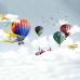 Balonlar Uçaklar Çocuk Odası Duvar Kağıdı