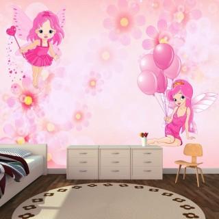 Periler Kız Çocuk Odası Duvar Posteri