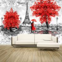 Yağlı Boya Efektli Eyfel Kulesi- Paris