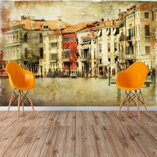 Eskitme Venedik Duvar Posteri