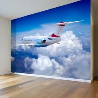 Yolcu Uçağı Duvar Posteri