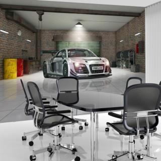 Gri Audi Duvar Kağıdı