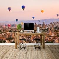 Kapadokya'da Sıcak Hava Balonları