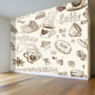 Yiyecek ve İçecek Duvar Posteri