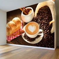 Kahve Duvar Posteri