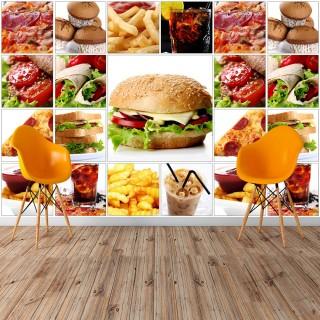 Fast Food Duvar Posteri